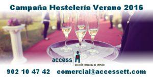 hostelería verano 2016