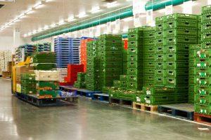 AgroAccess, trabajo en el almacén