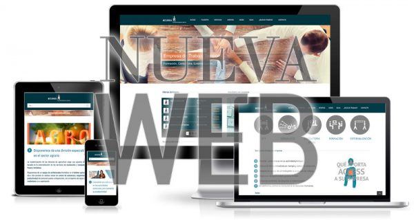 Access estrenamos página web