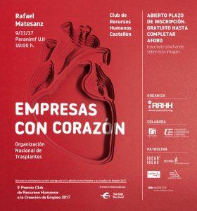 conferencia de Rafael Matesanz