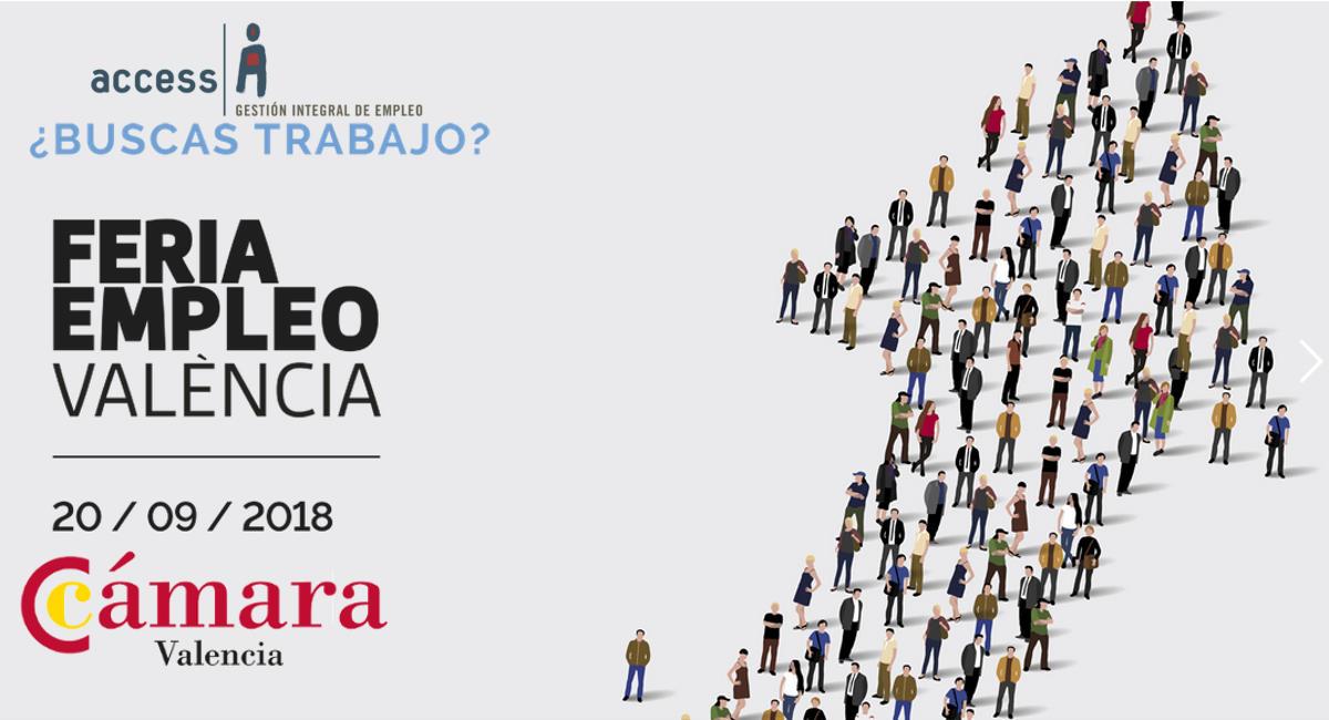 Feria Empleo Valencia 2018 | Cámara de Valencia