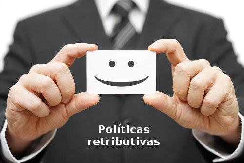 políticas retribuitvas