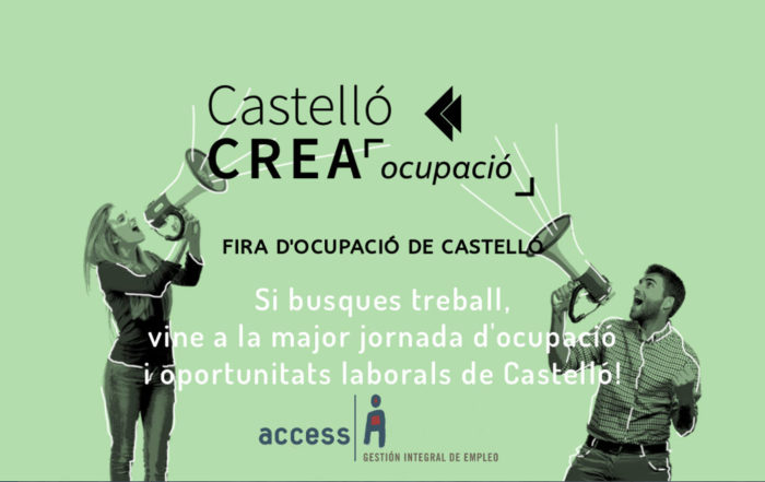 I Feria Castellón Crea Ocupació