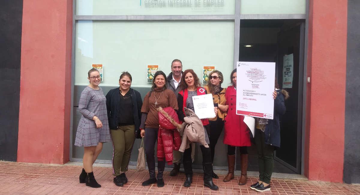 Colaboramos en La Vall d'Uixó con el Plan de Empleo de la Cruz Roja