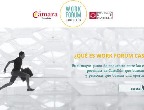V Work Fòrum Castellón | Ven y 'Conéctate al Empleo' con nosotros