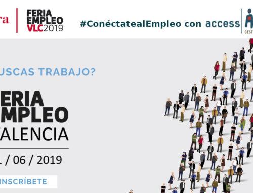Os esperamos en la Feria Empleo Valencia 2019
