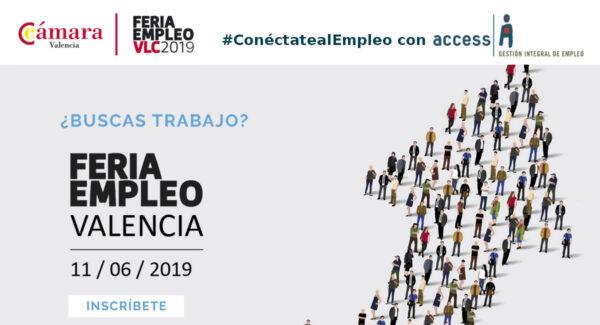 Feria Empleo Valencia 2019 Cámara Valencia