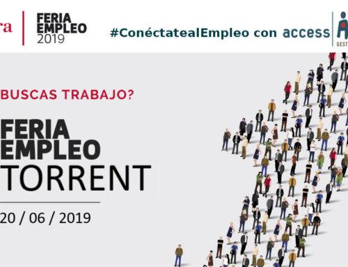 Feria Empleo Torrent 2019, nueva cita en búsqueda de trabajo