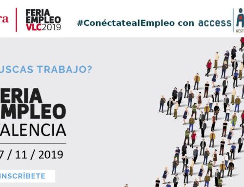 Déjanos ver tu perfil profesional en Feria Empleo Valencia 2019