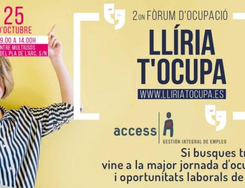 II Fòrum d'Ocupació a Llíria | #ConéctatealEmpleo