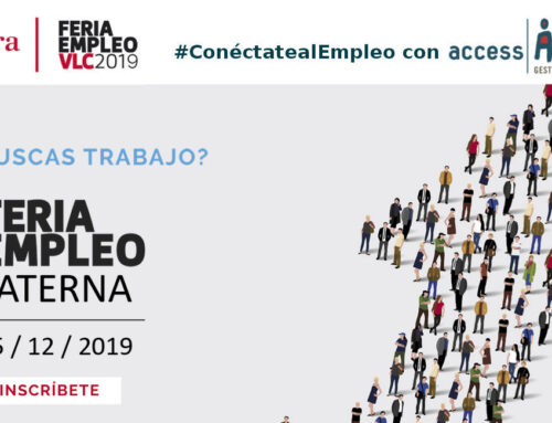 Ven a que te entrevistemos a la Feria de Empleo Paterna 2019