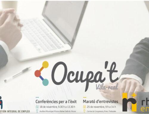 Nos volvemos a ver en el Foro de Empleo Ocupa't de Vila-real