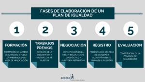 Fases Plan de Igualdad Access