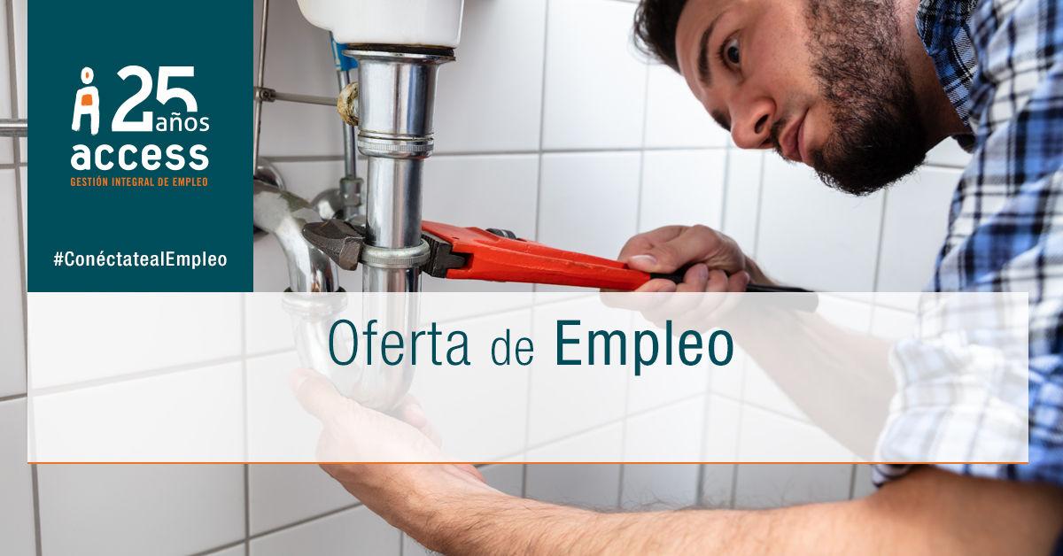 Fontanero oferta empleo Access