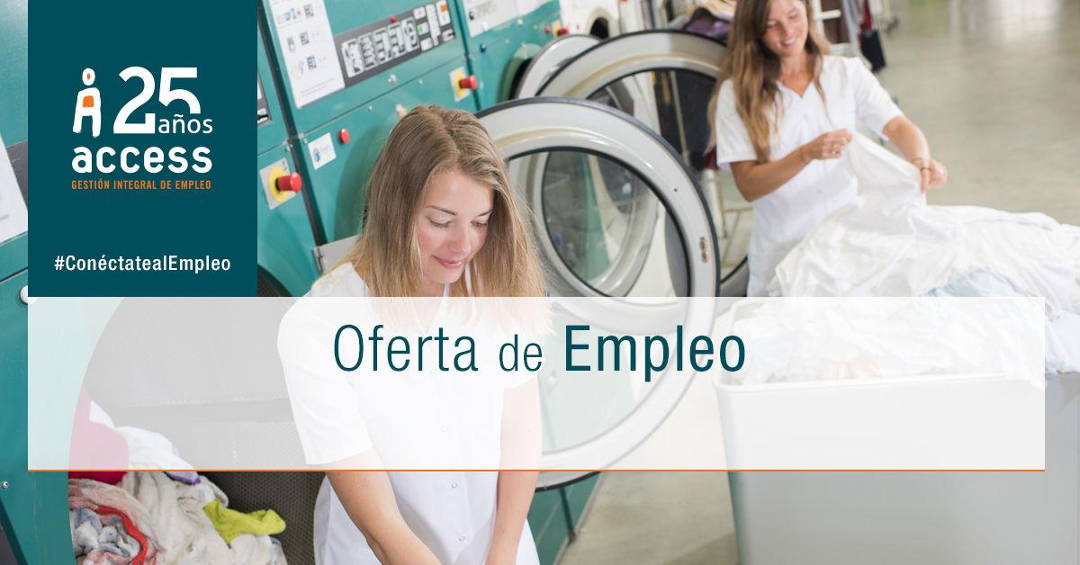 Lavandería oferta empleo Access