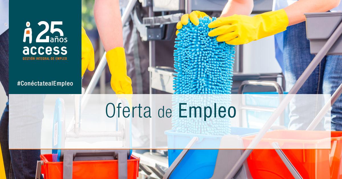 Limpieza oferta empleo Access