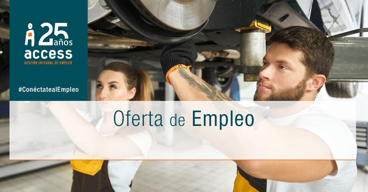 Mecánico oferta empleo Access