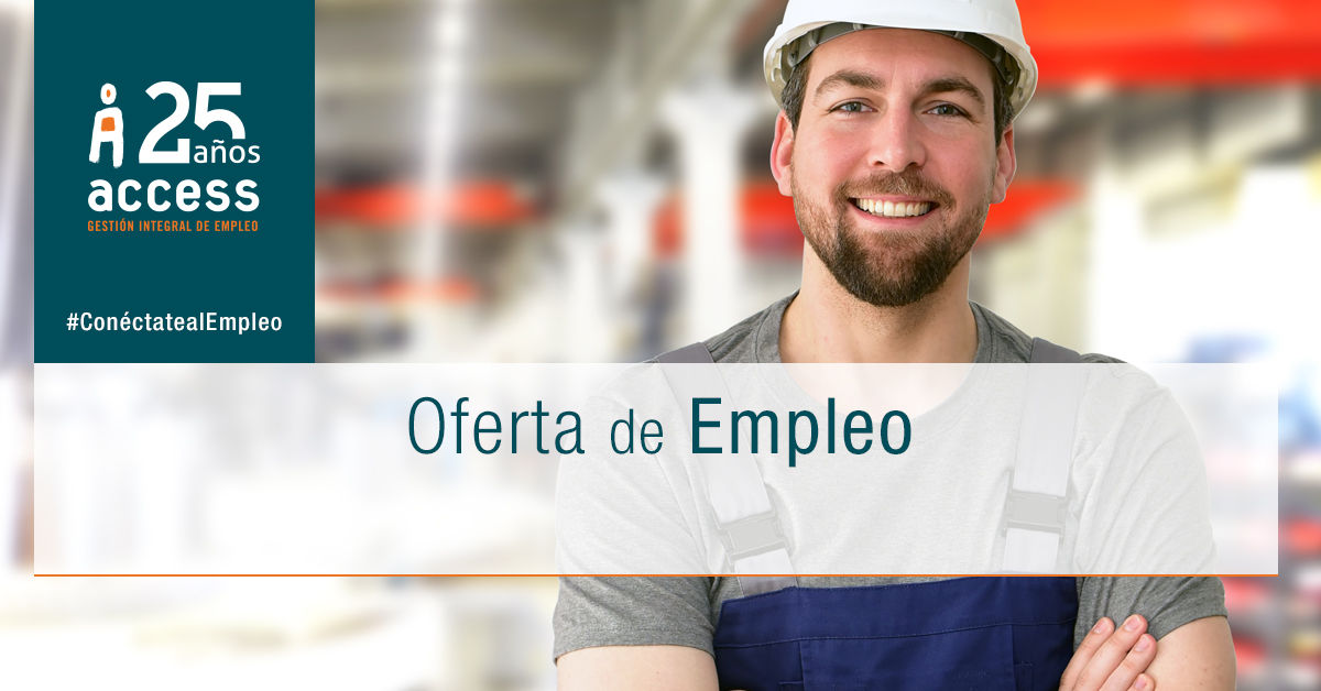 Operario almacén oferta empleo Access