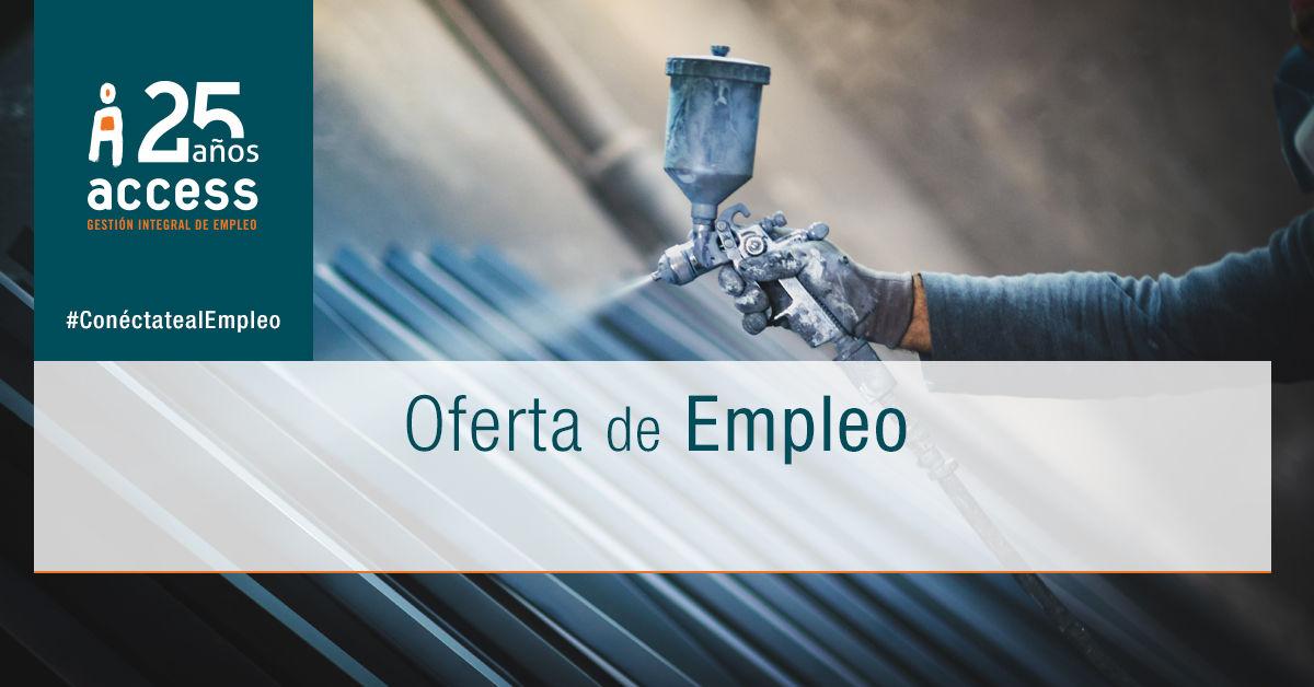 Pintor industrial oferta empleo_Access