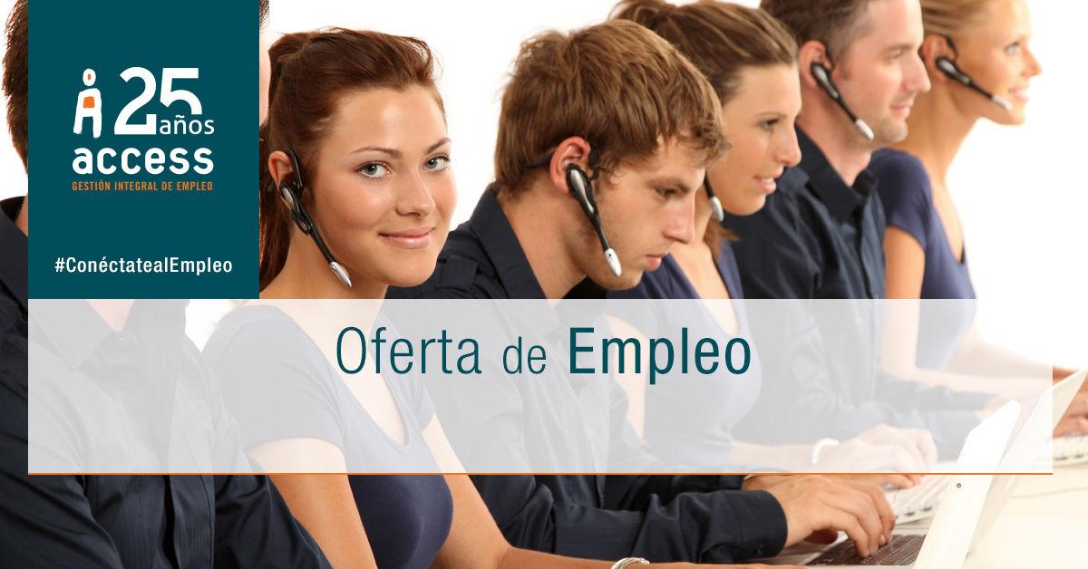 Telefonista oferta empleo Access