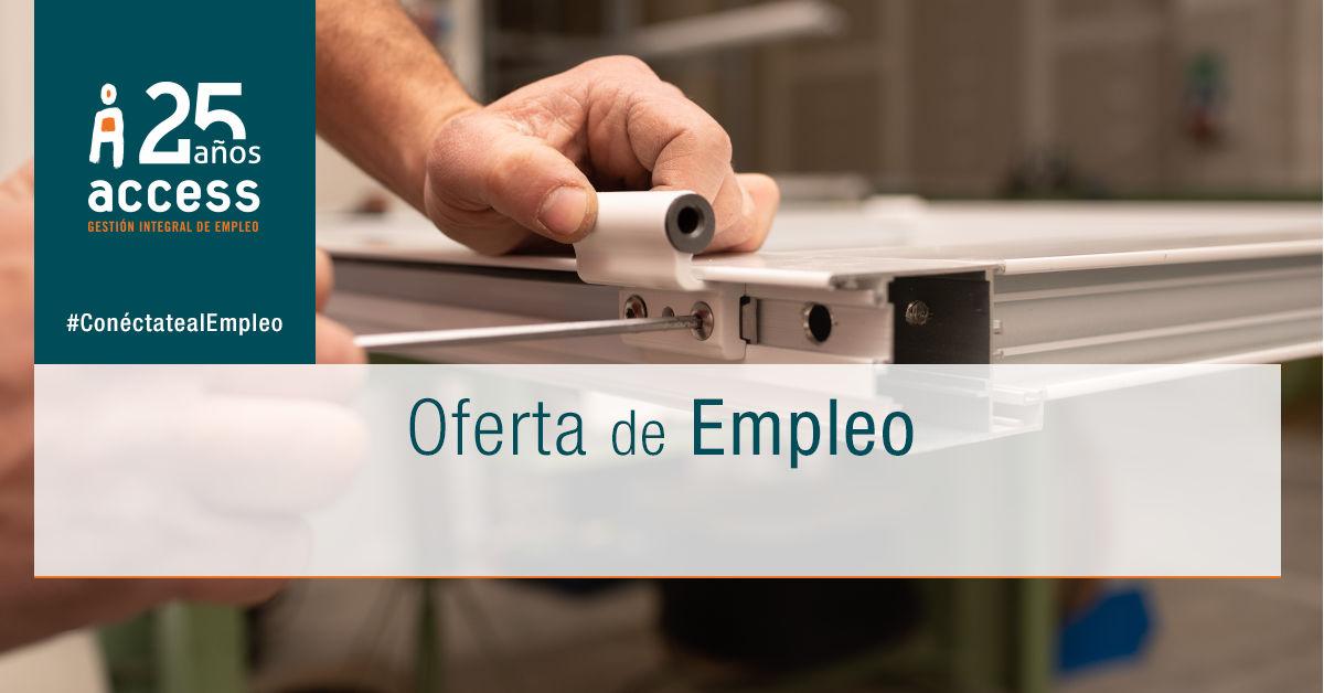Carpintero metálico Ofertas de Empleo