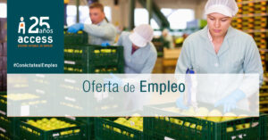 envasador oferta de empleo